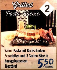 Sahne-Pasta mit Kochschinken